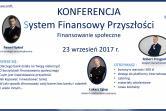 System Finansowy Przyszłości - Warszawa