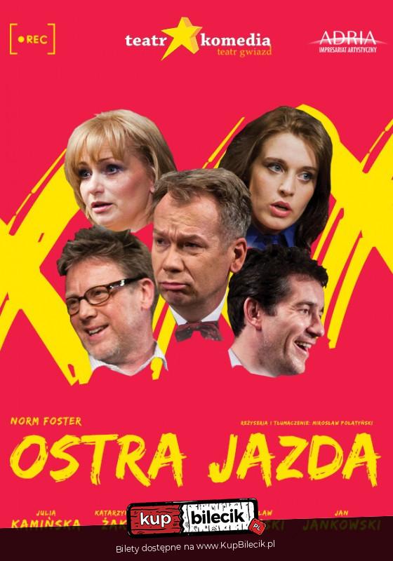 """Spektakl """"Ostra Jazda"""" @ ul. Nowy Świat 28/30"""