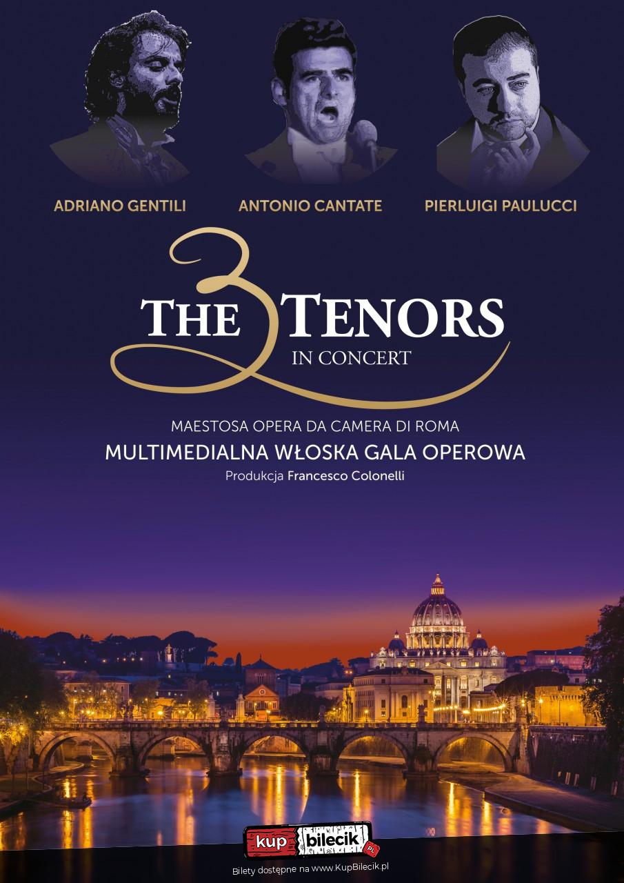 """Multimedialna włoska gala operowa - """"Trzech Tenorów"""""""