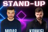 Stand-up - Paweł Konkiel & Daniel Midas - Olsztyn