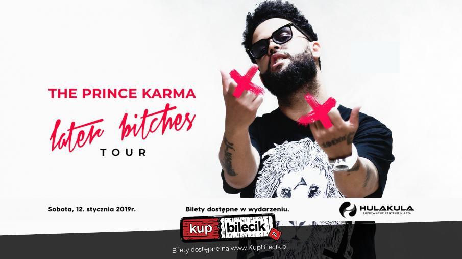 The Prince Karma / Warszawa / 2019-01-12, 23:30 (🎵) KUP BILET
