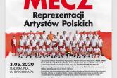 Charytatywny mecz Reprezentacji Artystów Polskich - Piła
