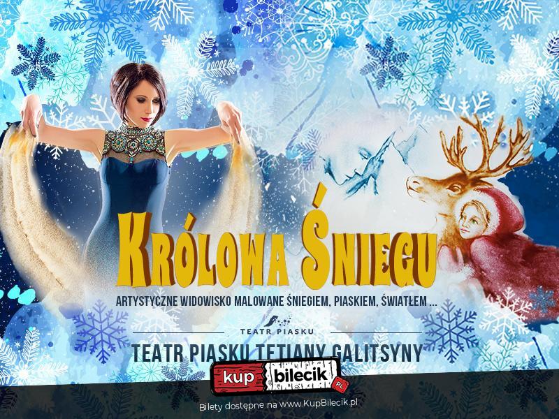kupuję teraz nowy design Nowe zdjęcia Teatr Piasku - Królowa Śniegu / Warszawa / 2019-12-01, 17:00 (🎭) KUP BILET
