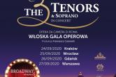 Broadway Musicals by The 3 Tenors & Soprano - Kraków