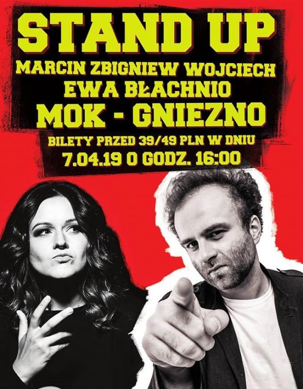 Stand Up Marcin Zbigniew Wojciech Ewa Błachnio Gniezno 2019