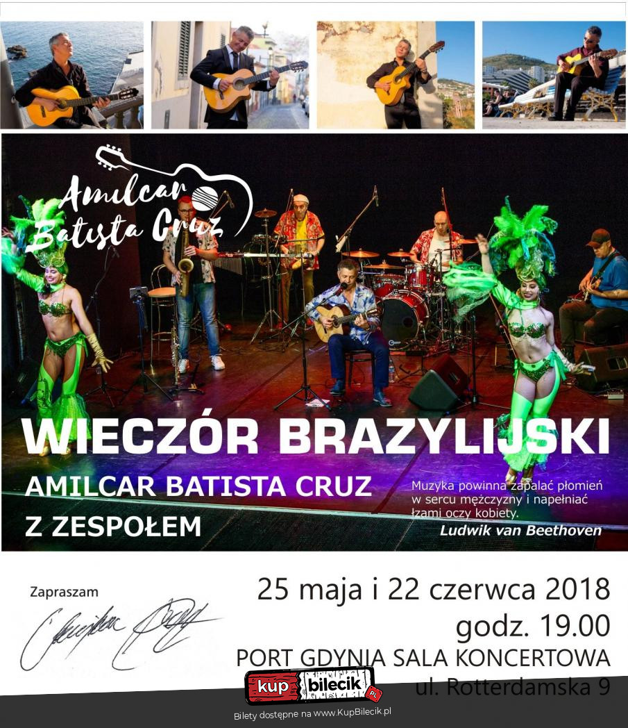 04920659651f85 Wieczór Brazylijski Amilcar Batista Cruz / Gdynia / 2018-06-22, 19 ...