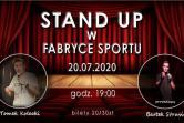 Stand-up w Fabryce Sportu - Gdynia