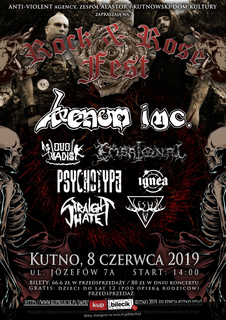 8a2158228ec3d5 Rock&Rose Fest Kutno 2019 - VII edycja / Kutno / 2019-06-08, 14:00 ...