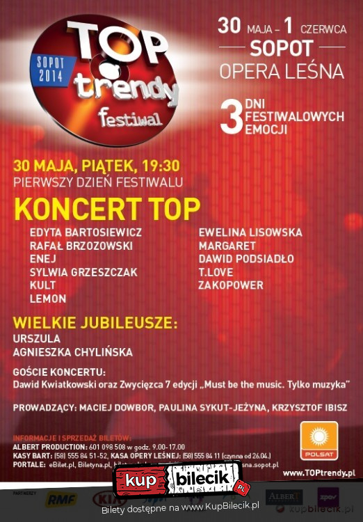 TopTrendy2013 - Koncert TOP