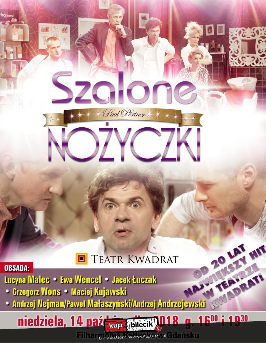 Szalone Nożyczki Teatr Kwadrat Gdańsk 2018 10 14 1930 28156