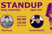 Stand-up w Szpula PUB - Gdańsk