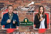 Szczecińska Liga Stand-Up- Bartosz Gajda i Magda Kubicka