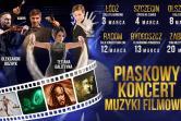 Piaskowy Koncert Muzyki Filmowej - Łódź