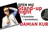 Open Mic - Stand-Up Night (tylko dla dorosłych) - Jaworzno