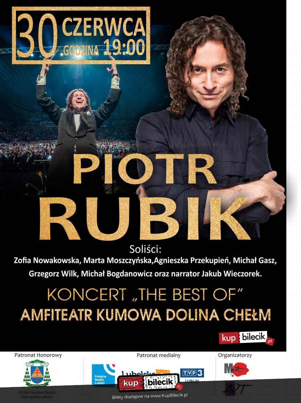 1b88c6dd5e09e1 Piotr Rubik / Chełm / 2019-06-30, 19:00 (🎵) KUP BILET