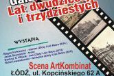 Lata 20-te, 30-te - Łódź