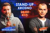 STAND-UP: Karol Modzelewski & Rafał Banaś - Krosno