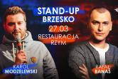 STAND-UP: Karol Modzelewski & Rafał Banaś - Brzesko