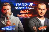 STAND-UP: Karol Modzelewski & Rafał Banaś - Nowy Sącz