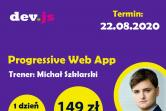 Progressive Web App - II edycja - Internet